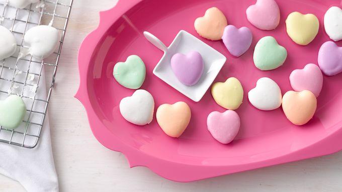 Mini Conversation-Heart Cookies