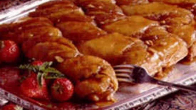 Honey Twist Coffee Cake
