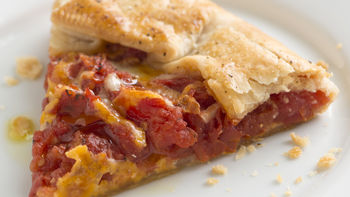 Fire Roasted Tomato Pie