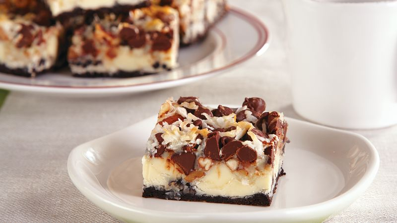 Chocolate Crumble Bars