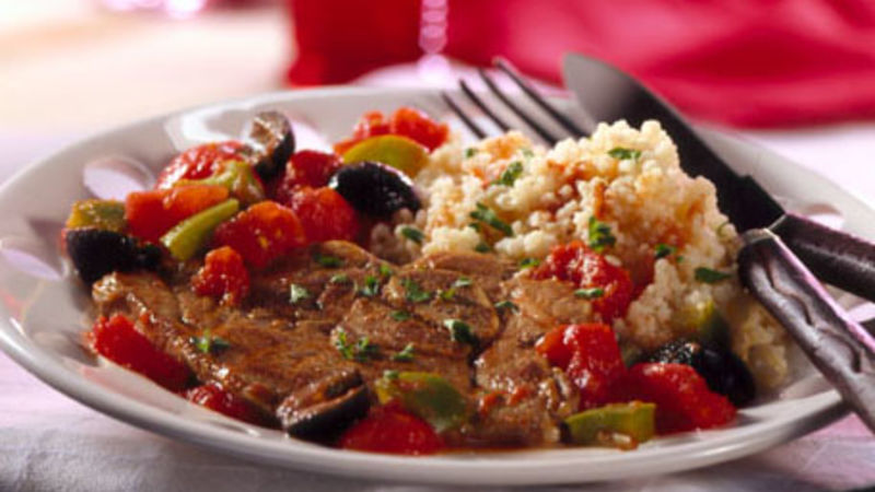 Spanish Lamb and Couscous