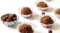 White Chocolate Brigadeiros with Cocoa Puffs™