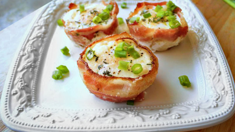 Eggs Rolled in Bacon