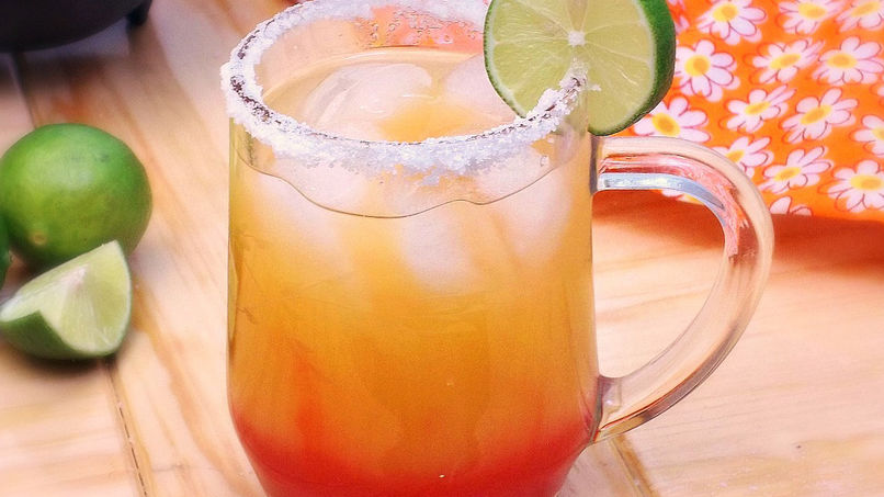 Mango Sunrise Margarita