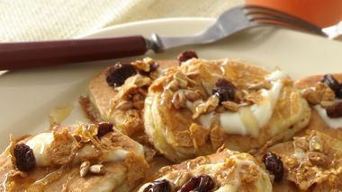 Nutty Whole-Grain Silver Dollar Pancakes