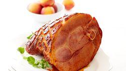 Guajillo-Rubbed Apricot Sage Glazed Ham