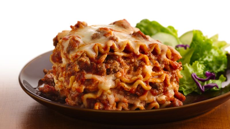 Slow-Cooker Lasagna recipe from Betty Crocker
