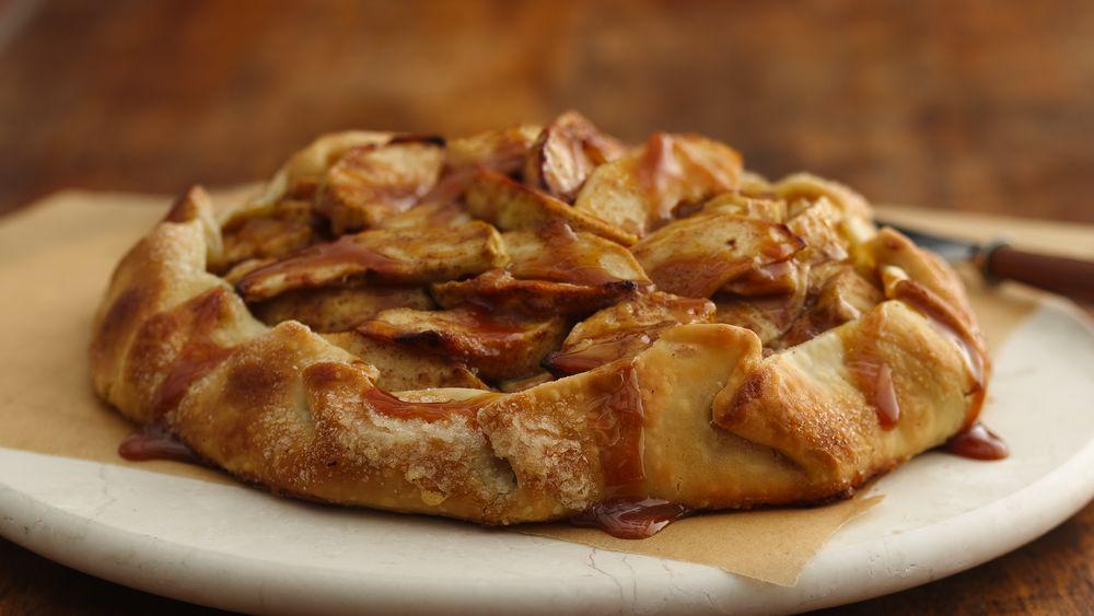 Caramel-Apple-Ginger Crostata