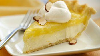 Lemon Truffle Pie