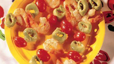 Tortellini-Shrimp Kabobs