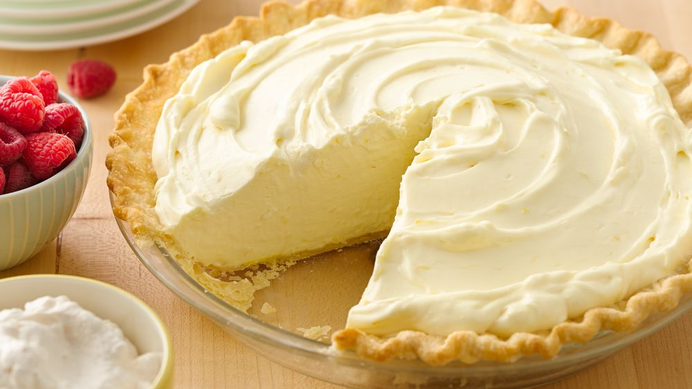 Lemon Cake With Lemon Pie Filling And Cool Whip