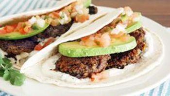 Tex Mex Falafel Tacos