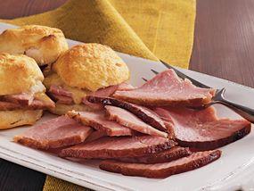 Slow-Cooker Honey Mustard Glazed Ham