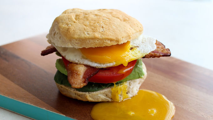 BLT Breakfast Biscuits