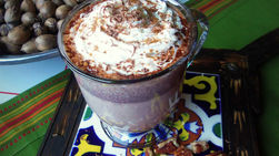 Cinnamon Pecan Mexican Hot Chocolate