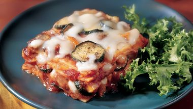 Skinny Roasted-Vegetable Lasagna