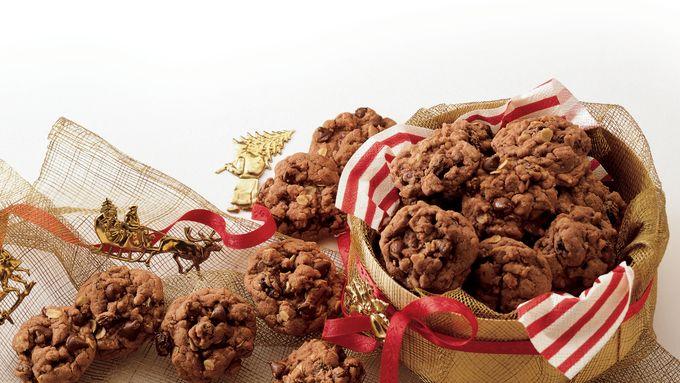 German Chocolate Cake Mix Cookies