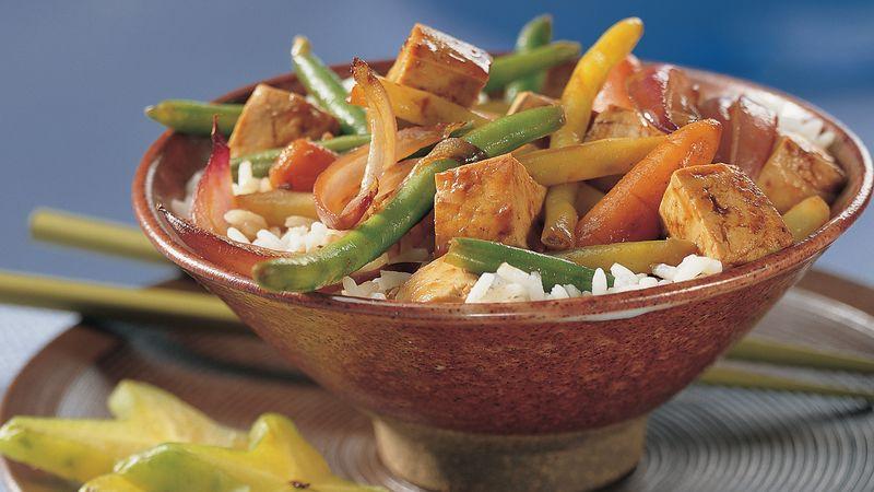Five-Spice Tofu Stir-Fry