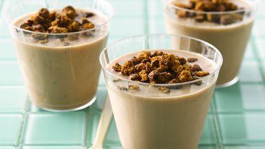 Cocoa-Peanut Butter-Banana Smoothies