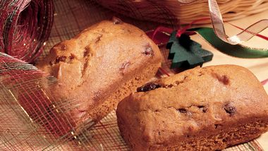 Mini Pumpkin-Date Breads