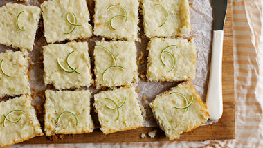 Key Lime Magic Bars