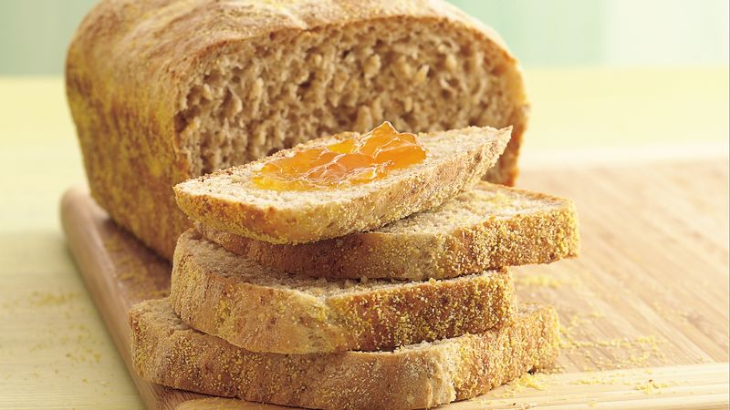 Four-Grain Batter Bread