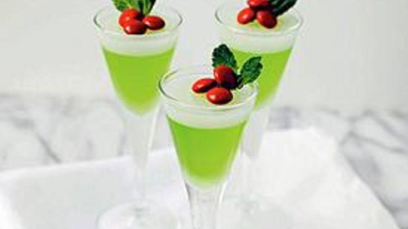 Mistletoe Jello Shots