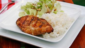 Grilled Bourbon Chicken