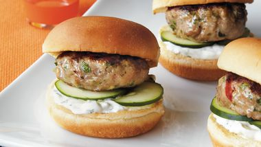 Greek Turkey Sliders
