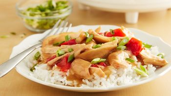 Honey Teriyaki Slow-Cooker Chicken