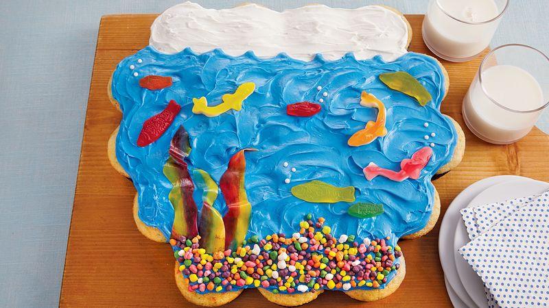 Go Fish Cupcakes
