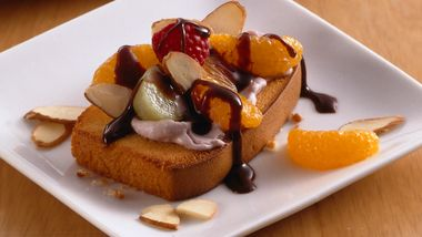 Fruit- and Nut-Topped Pound Cake