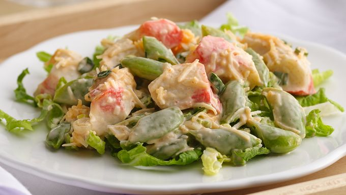 Spicy Coconut-Surimi Salad