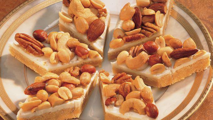 Nutty Noel Bars