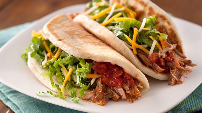 Slow-Cooker Mexican Pork Tacos