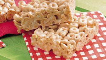 Gluten-Free Cheerios™ Marshmallow Cereal Bars