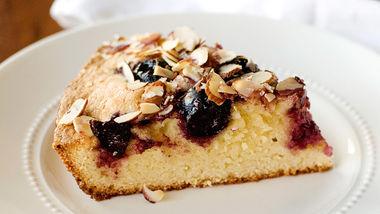 Cherry-Almond Skillet Cake