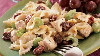 Dried Cherry-Nut Chicken Pasta Salad