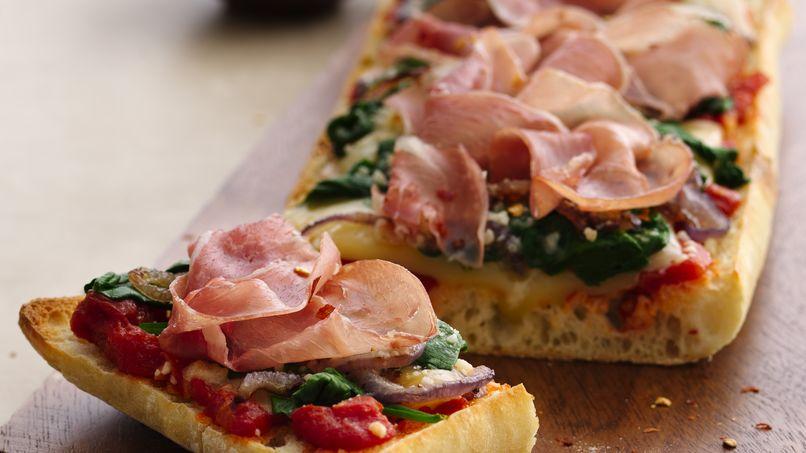 Pizza de Ciabatta