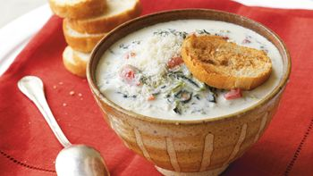 Spinach Dip Soup