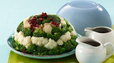 Molde de Ensalada de Coliflor y Brócoli