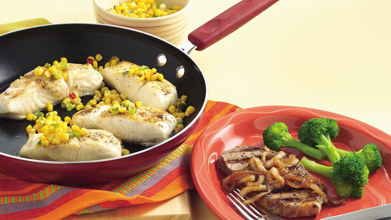January 23, 2013 Gluten-Free Skillet Fish with Quick Corn Relish