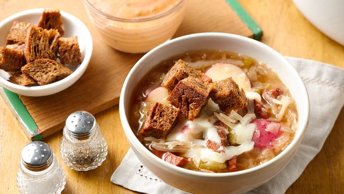 Reuben Soup recipe - from Tablespoon!