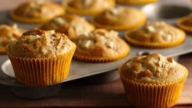Pear and Ginger Muffins