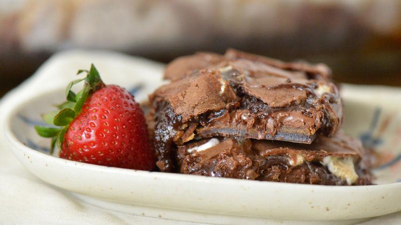 Brownies de S'mores