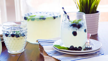 Blueberry Limoncello Party Punch