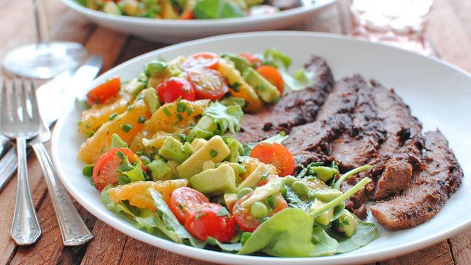 Avocado and Citrus Salad