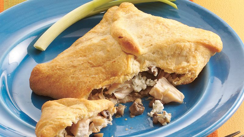 Chicken and Blue Cheese Bundles