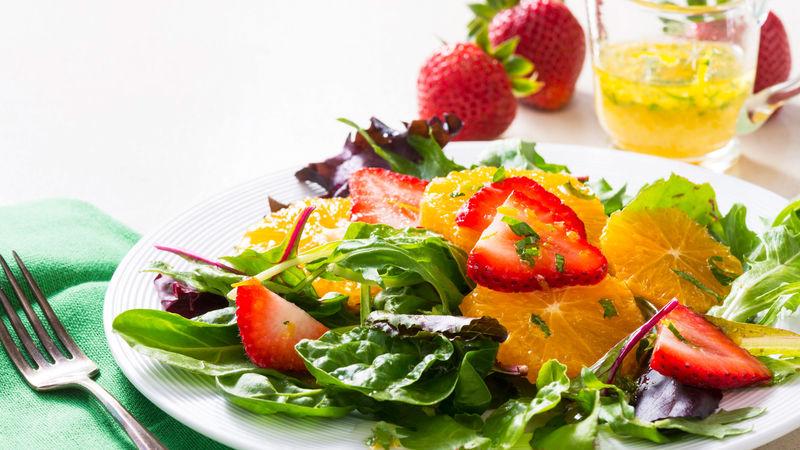 Orange-Strawberry Salad