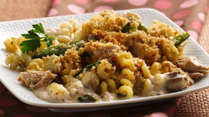 Contemporary Tuna-Noodle Casserole